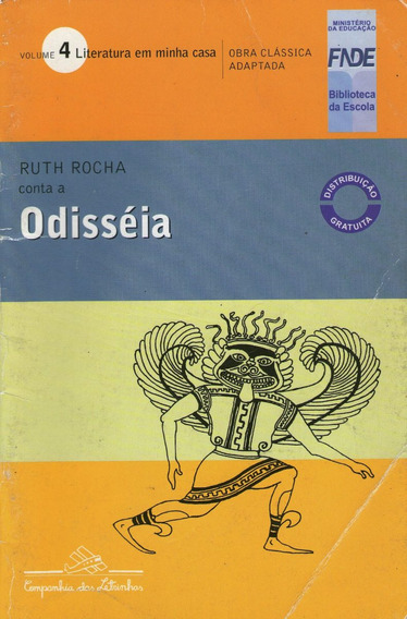 Livro Odisséia Literatura Em Minha Casa Frete Gratis