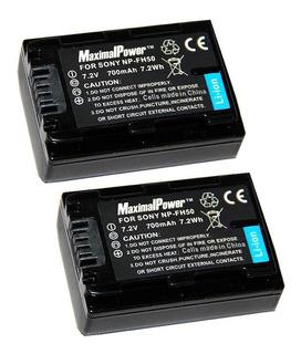 Bateria Np-fh50 Np-fh30 Np-fh40 Np-fh60 Sony Alpha Handycam