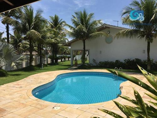 Imagem 1 de 24 de Casa À Venda Condomínio Jardim Acapulco - Praia De Pernambuco - Guarujá - Ca1817