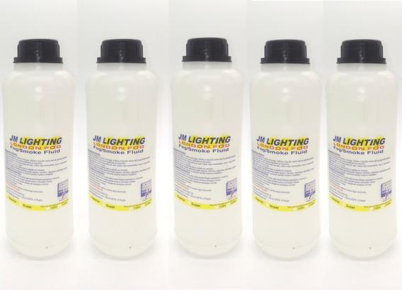 Líquido Fluido Para Máquina De Fumaça Kit C/5 Litros