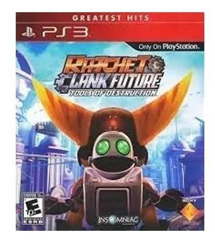 Jogo Ps3 Ratchet & Clank Future Tools Of Destruction