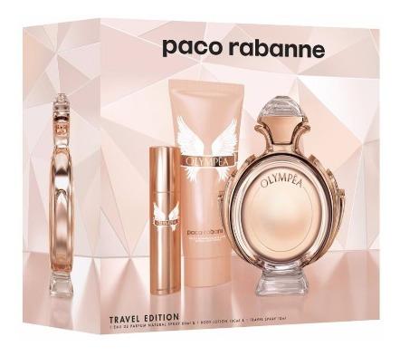 Perfume Paco Rabanne Olympea 80ml + Creme Corporal 100ml