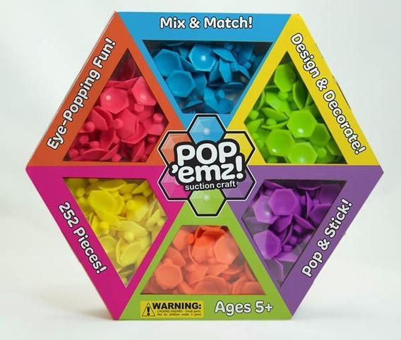 Pop Emz Juego De Construcción Tipo Sopapa