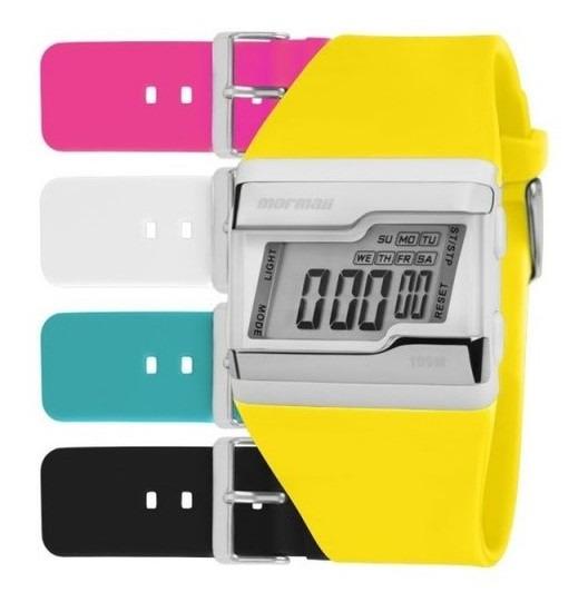 Relógio Mormaii Digital Acquarela 5 Pulseiras Fzca/t8a