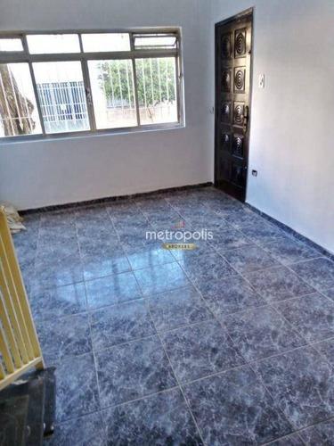 Imagem 1 de 11 de Sobrado Com 3 Dormitórios Para Alugar, 107 M² Por R$ 2.700,00/mês - Osvaldo Cruz - São Caetano Do Sul/sp - So1030