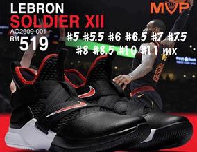 Tenis Nike Lebron James Soldier Basquet Sportsss Black