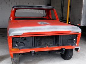 Ford F100 Original Placa Preta Colecionador