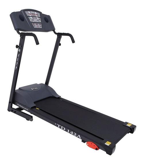 Esteira Eletrônica Dobrável Dream Fitness Td 142a Velocidade