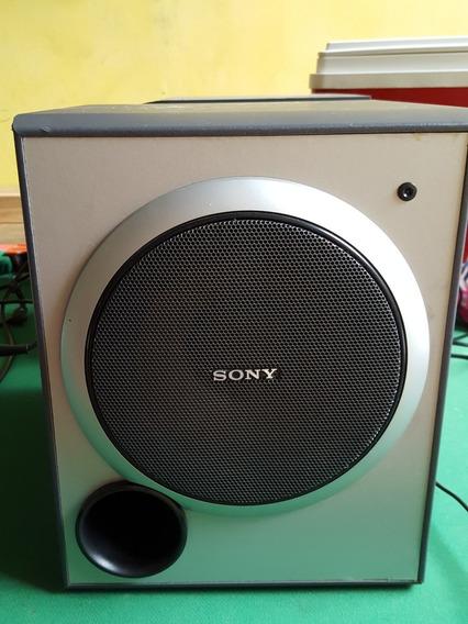 Sony Subwoofer Ativo Sa-wp1500 80w Par Duas Unidades
