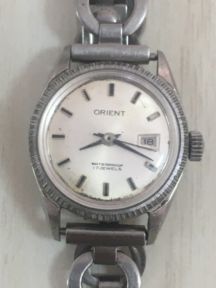 Relógio Orient Á Corda Manual Feminino Para Conserto Co.59