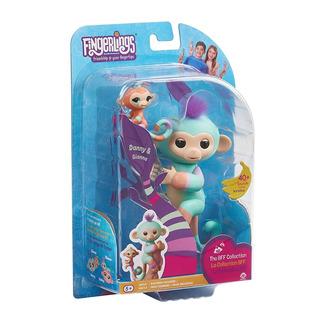 Fingerlings Glitter Monkey Interactivo - Danny Y Gianna