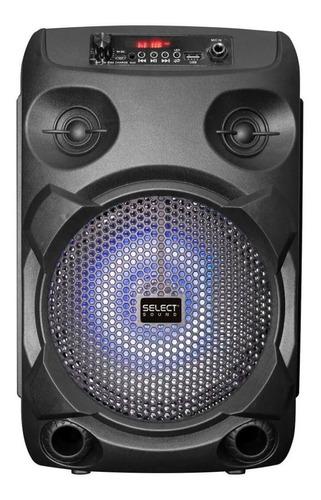 Imagen 1 de 3 de Bocina Select Sound Raven portátil con bluetooth negra