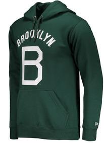 Moletom New Era Brooklyn Verde Original Novo