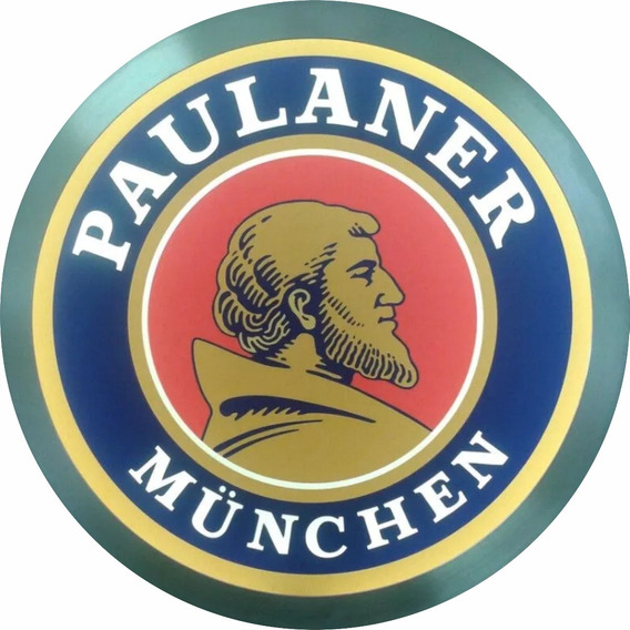Luminoso Led Placa Paulaner Cerveja Bar