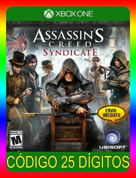 Assassins Creed Syndicate Xbox One - 25 Dígitos (envio Já)