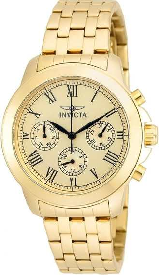 Relógio Invicta Specialty Colletion Making History 18k 21654