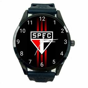 Relógio São Paulo Unissex Futebol Esporte Tricolor Novo T177