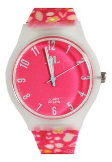 Reloj Xl Cod Xl-606 Elegi Color Malla Silicona