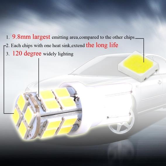 Lampada T10 20 Led Smd 2835 6000k