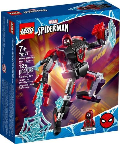 Imagen 1 de 4 de Lego® Avengers - Armadura Robótica De Miles Morales (76171)