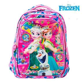 92b1a9eba Mochila Infantil Feminina Frozen Escolar Outras Marcas - Mochilas no ...