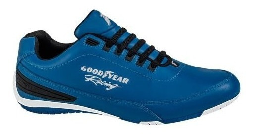 Tenis Casual Goodyear Racing 3821 Id 168383 Azul Hombre