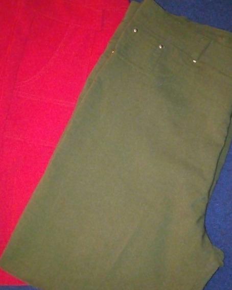 Pantalones De Dama Talla Eg