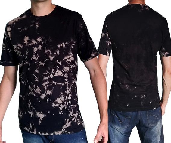 Camiseta Masculina Estilosa Preta Promoção