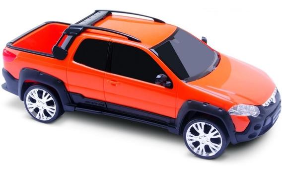 Carrinho Miniatura Pick-up Strada Adventure Roma Brinquedos