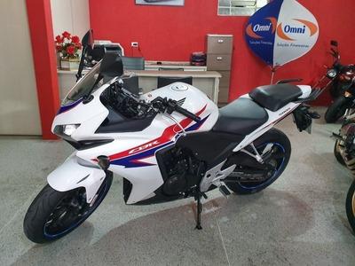 Honda Cbr 500r Branca 2014