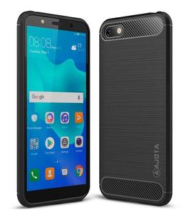 Forro Ajota Fibra De Carbono Huawei Y5 2018 / Honor 7s