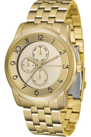 Kit Relógio Feminino Lince Original Com Garantia E Nfe