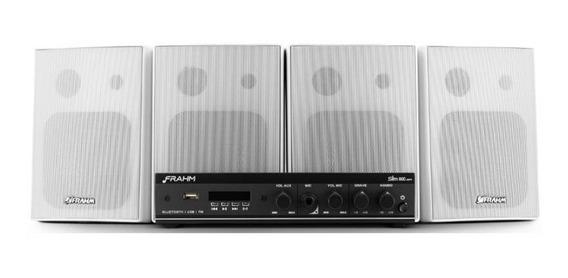 Kit Sonorização Frahm Completo Slim800 30 Watts Rms - Ap0381