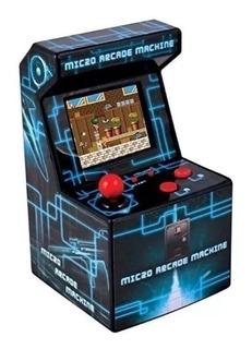 Mini Consola Fichin Arcade 200 Juegos 8bits Retro Gamer Pila