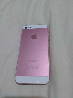 Celular iPhone 5 Rosa Usado 13gb