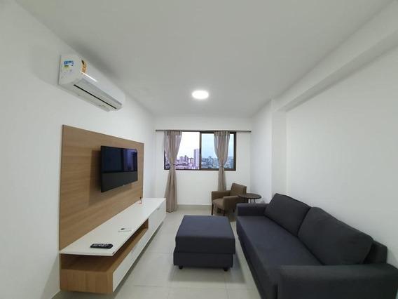 Apartamento Em Ilha Do Leite, Recife/pe De 54m² 2 Quartos Para Locação R$ 2.800,00/mes - Ap548026