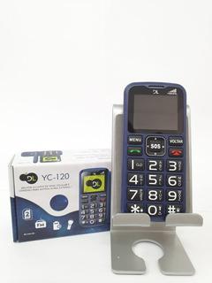 Celular Para Idoso Dl Yc-120