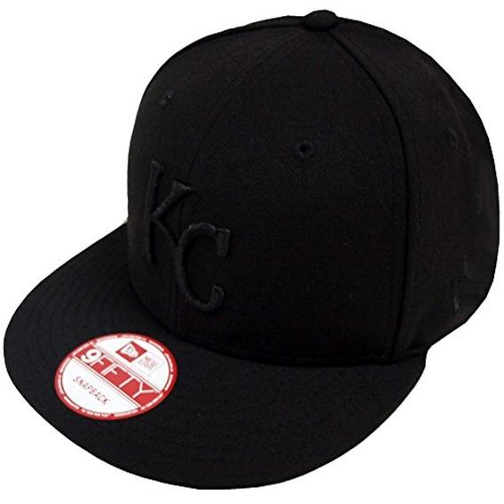 New Era Black On Snapback Cap 9fifty