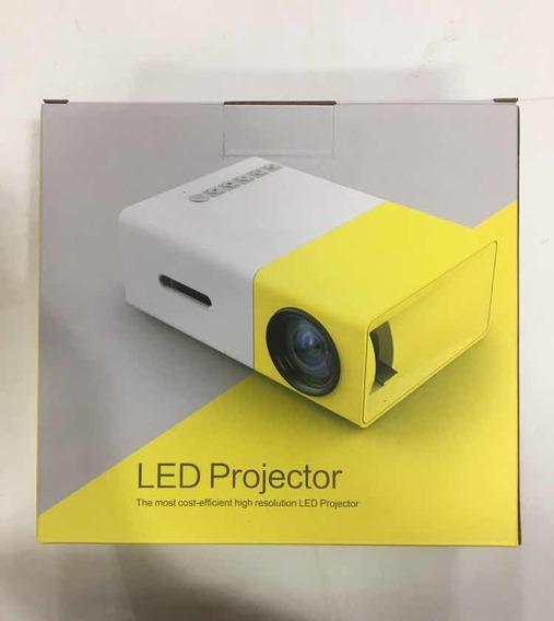 Mini Led Projetor Portatil Full Hd 600 Lumens Usb Sd Hdmi