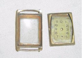 Carcaça Relógio Antigo De Mesa - Sem O Relógio - Ano 1937.