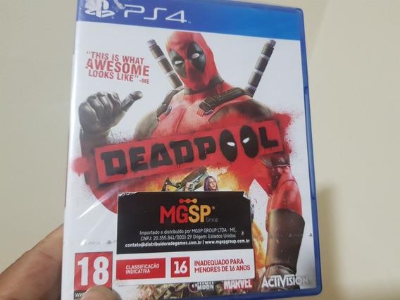 Deadpool Lacrado Ps4 Mídia Física