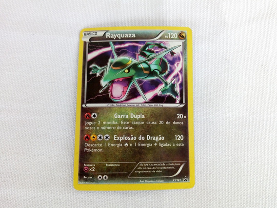 Card Game Pokemon Rayquaza Basico