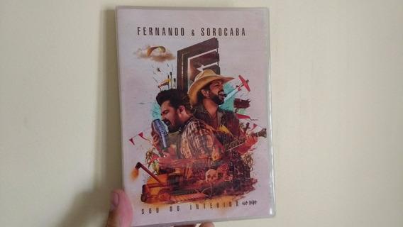 Dvd Fernando & Sorocaba - Sou Do Interior Ao Vivo - Lacrado