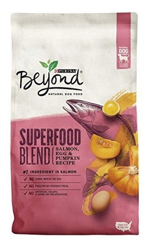 Purina Beyond Superfood Blend Salmon Egg Y Pumpkin Recipe Ad