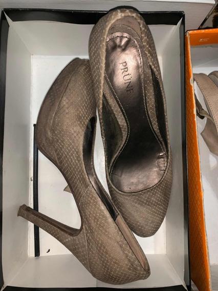 Lote De Hermosos Zapatos De Marca Todos En 39.