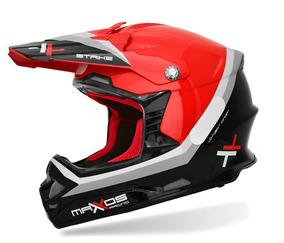 Capacete Mattos Racing Mx Pro Strike Cor Vermelho - 60