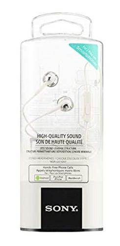 Imagen 1 de 3 de Sony Deep Bass Auriculares Con Microfono Control De Smartph
