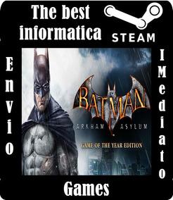 Batman Arkham Asylum Goty Edition Steam Cd Key Barato Pc/mac