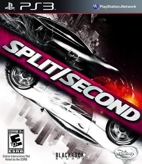 Split Second Ps3 Psn Receba Agora Jogos Ps3 Promoção