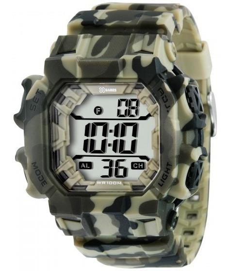 Relógio Xgames Xgppd085 Bxef Dual Time Digital - Refinado